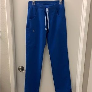 FIGS Royal Blue Kade Pants Size XS